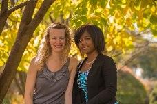Jessica and Kianna